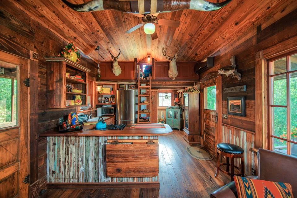 Gallery: The Cowboy Cabin | Tiny Texas Houses | Small