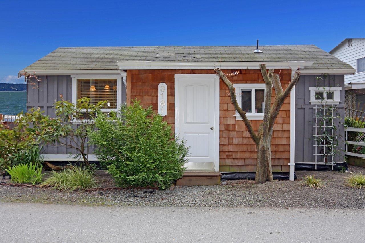 ... 1280 × 853 In Tiny Beach Cottage On Camano Island