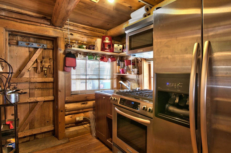 Cabin Kitchen Island Designs