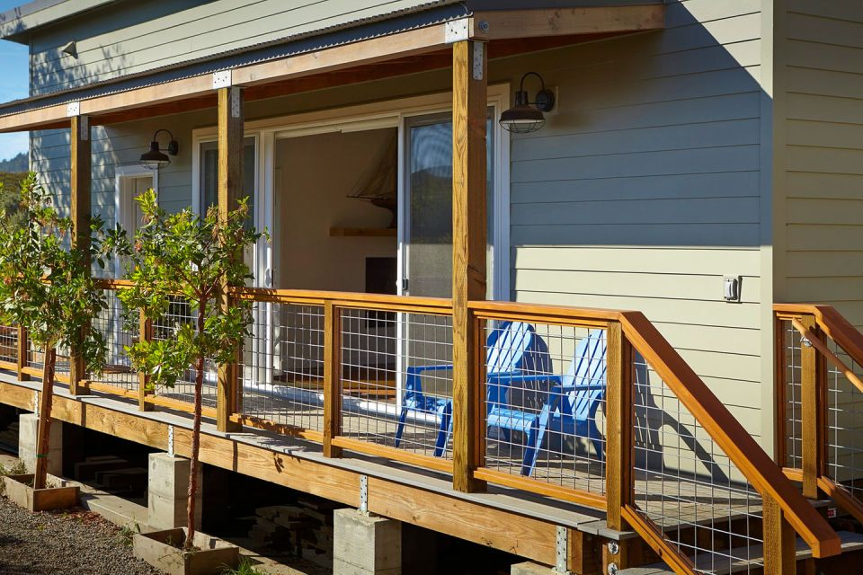 Cost saving strategies in a small California beach house Small
