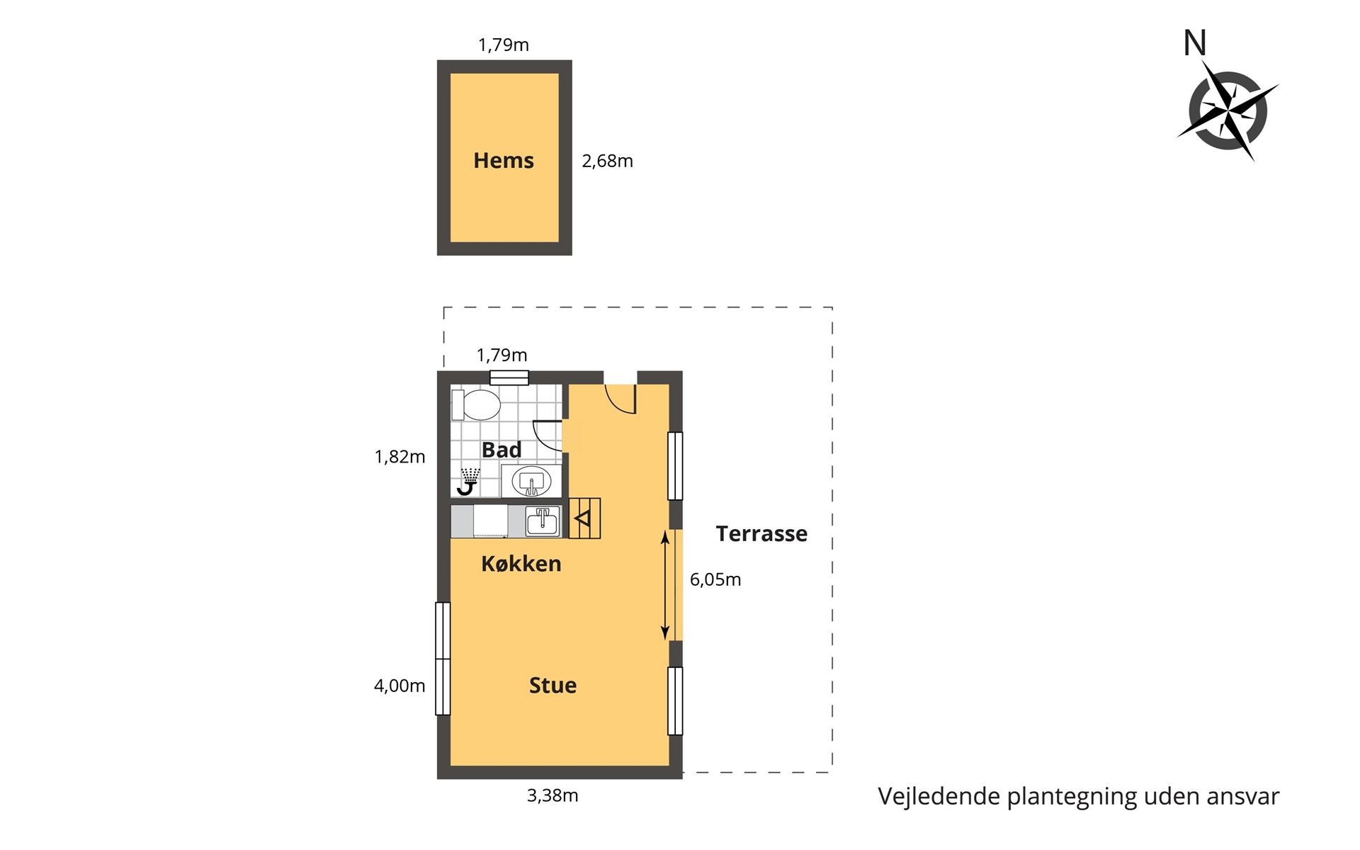 Gallery scandinavian modern tiny house simon steffensen for Scandinavian house plans