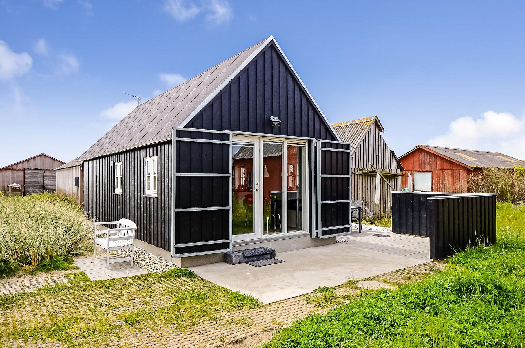 This Danish Summerhouse Was Inspired By The Neighboring Fishermenu0027s Sheds.  It Has One Bedroom On