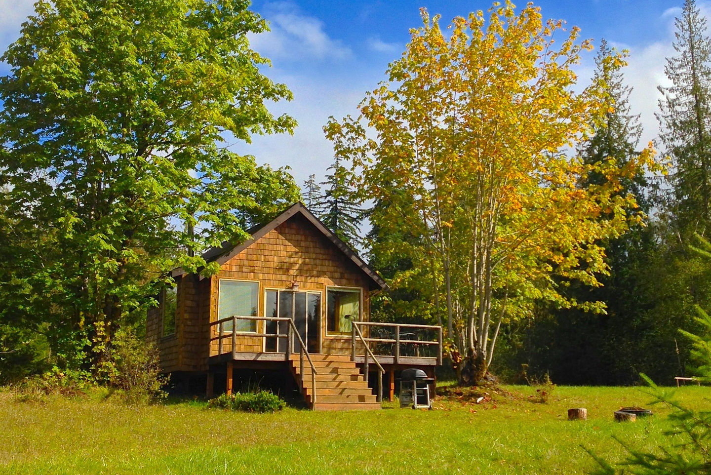 Superb The Pond Cottage, A Small Cabin Tucked Into A Secluded Forest Meadow.  Inside It