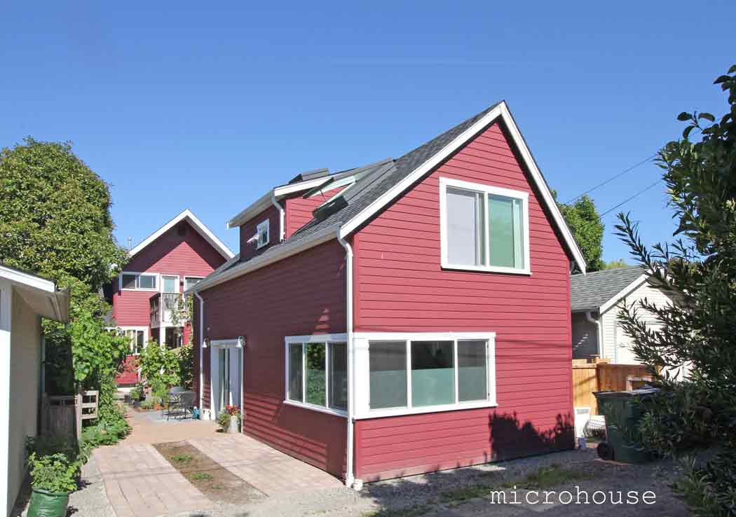 a seattle backyard cottage for empty nesters microhouse - Small Home Designs