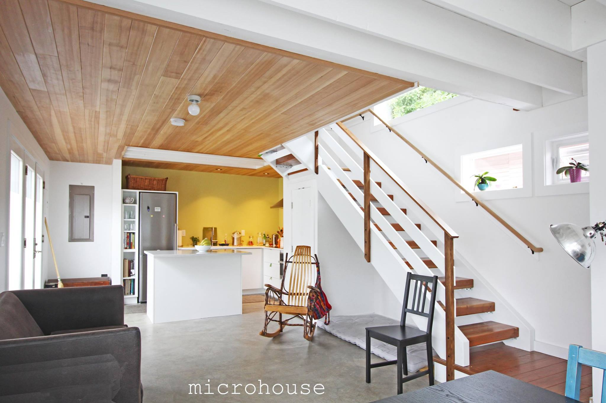 This Contemporary Backyard Cottage In Seattle Was Designed To Take  Advantage Of Natural Light. It