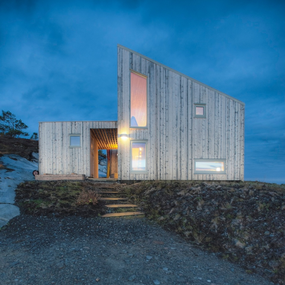 Gallery A Modern Coastal Cabin In Norway Tyin Tegnestue